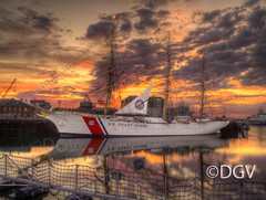 US Coast Guard Eagle @ Sunrise photo by DGVARCH