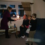 Granddad blowing his candles out<br/>09 Mar 2013