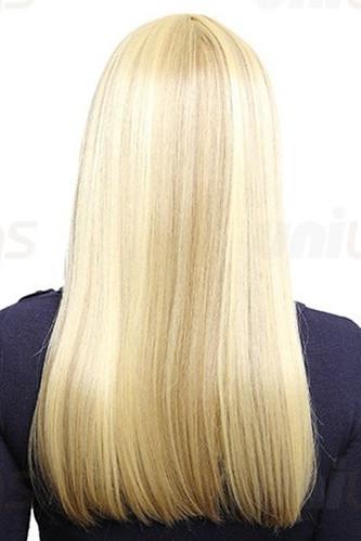 Charming Long Blonde Straight Hair Styles – UniWigs ...