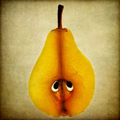 a sad pear of eyes photo by 1crzqbn