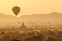 The Bagan Sunrise again photo by Silvr