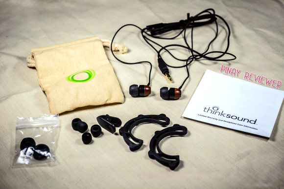 thinksound ts01 headphones and accessories