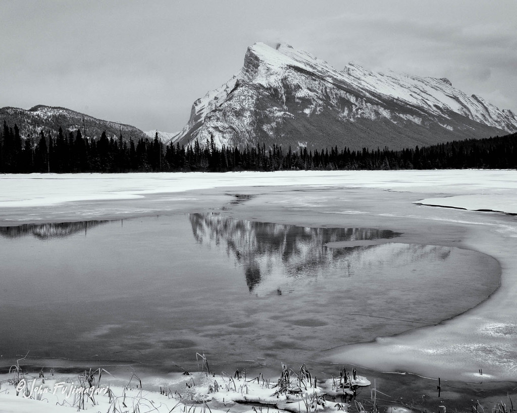 Mt Rundle And Vermillion Lakes 3