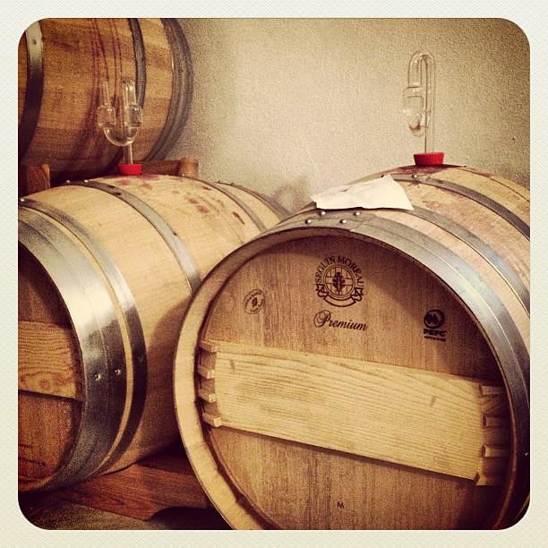 Barriquefässer Wein von 3