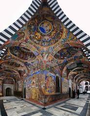 rila monastery vertical panorama photo by mariusz kluzniak
