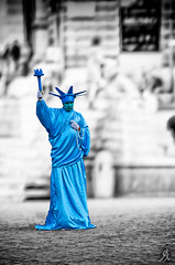 The real Statue of Liberty -- maybe :-) photo by Alessandro Giorgi Art Photography