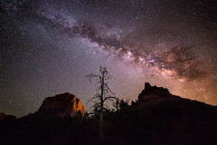 Milky Way over Sedona, Arizona (Explored!) photo by Mike Olbinski Photography