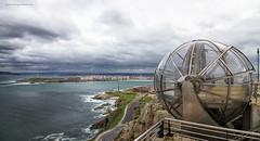 La Coruña desde el mirador del Monte de San Pedro.  (Explore). photo by Emilio Rodríguez Álvarez