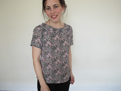 Colette Laurel blouse photo by flossieteacakes