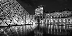 The Louvre at night photo by marianboulogne