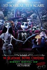 Trailer y póster de 'Pesadilla Antes de Navidad 3D'