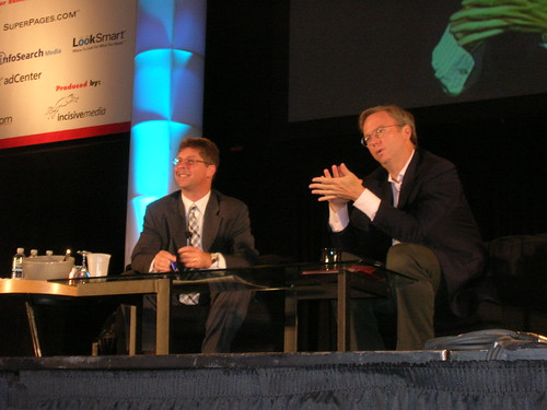 A Conversation with Eric Schmidt of Google