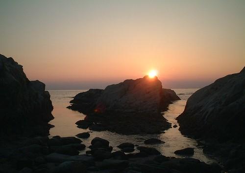 夕焼けの海/The sea of a sunset