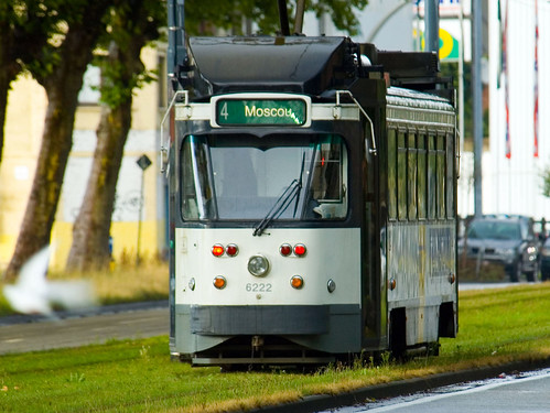 Tram naar Moskou