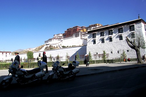 Lhasa, Tibet Potala Palace - May 2006