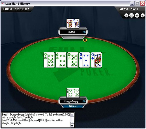 slb straight flush