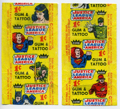 JLA Tattoo wrappers