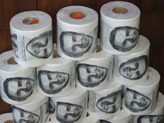 Bush Toilet Paper, Mendocino, CA 8/06