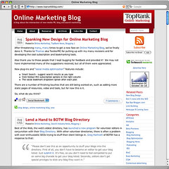Online Marketing Blog - New Design