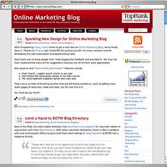 Online Marketing Blog - New Design