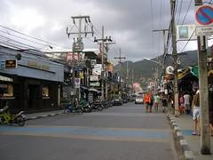 Streets in Patong, Phuket
