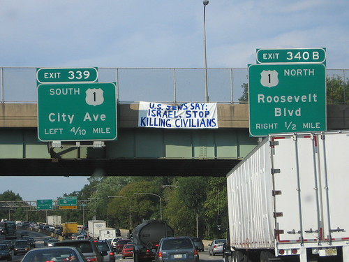Philly Banner Drop