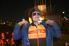 Aron posing in Hamburg