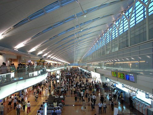 羽田空港(Haneda airport terminal)