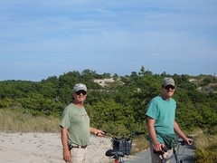 Bikers in the Dunes