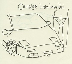 Orange Lamborghini Cover
