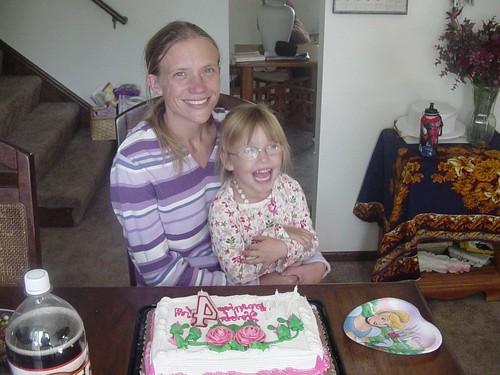 hayley's 4th birthday--cake