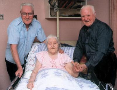 My Maternal Grandmother on her 93rd birthday.