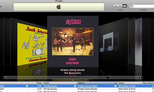 iTunes cover browser