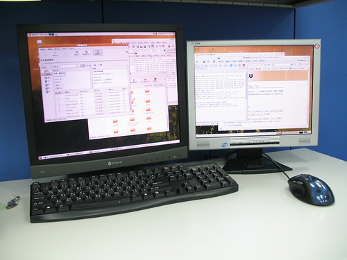 ubuntu dual-monitor