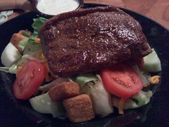 Steak on a Salad