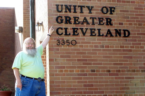 Roger Standing By The Unity of Greater Cleveland Church