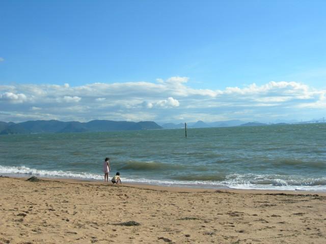 grand week-end la plage