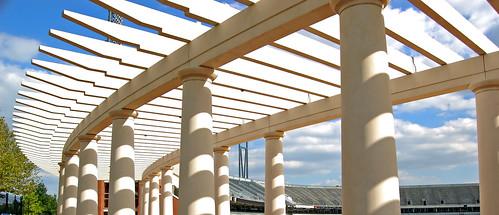 UVA Stadium Pergola 1