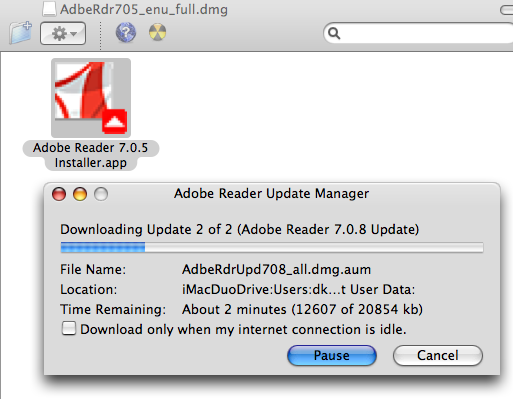 Dreaded Adobe Reader Installer