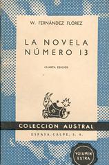 Wenceslao Fernández Flórez, La Novela Número 13