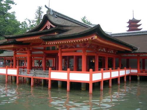 Miyajima temple 2