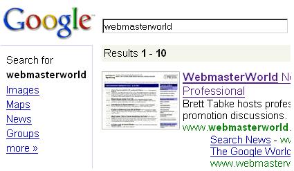 google ¿Probando un nuevo diseño?