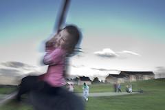 Lola at the playground, Bole Hills
