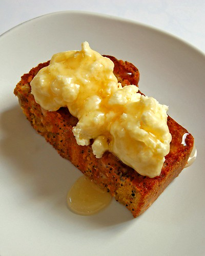 seeded orange soda bread with ricotta© by haalo