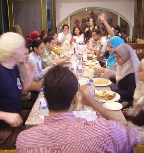 إفطار مدونين  05-10-2006