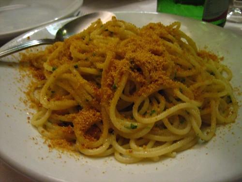 Spaghetti con Bottarga
