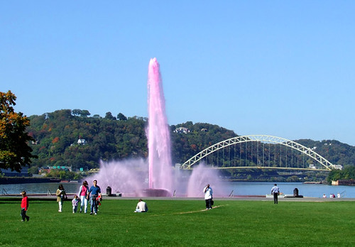 Point Park fountain 1