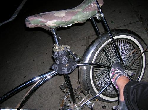 shoes & bike