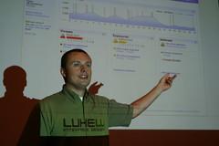 Lukew presenting