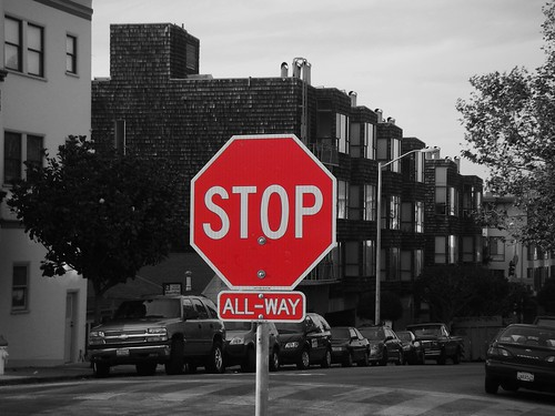 STOP all-way
